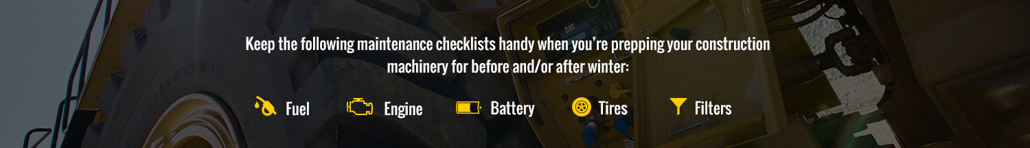 Checklists For Maintenance