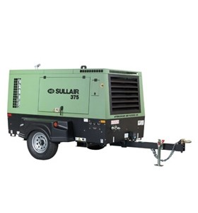 sullair 375 cfm air compressor available for rent walker cat rh walker cat com sullair 375 air compressor parts manual Sullair Compressor Parts List