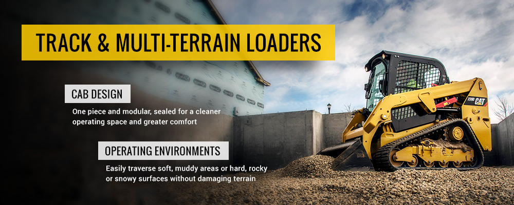 Cat Compact Track Loaders